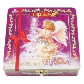 Liran Vánoční balení černých čajů Anděl, 4 příchutě á 10 x 2 g
