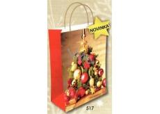 Nekupto Dárková kraftová taška střední 29 x 22 x 10 cm Vánoční 517 WKL