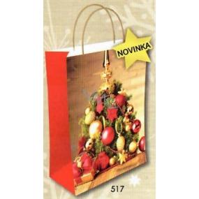 Nekupto Dárková kraftová taška 29 x 22 x 10 cm Vánoční 517 WKL