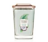 Yankee Candle Shore Breeze - Mořský vánek sojová vonná svíčka Elevation velká sklo 2 knoty 553 g