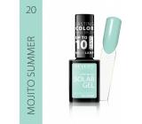 Revers Solar Gel gelový lak na nehty 20 Mojito Summer 12 ml