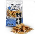 Calibra Joy Classic Ryba s kuřecím plátkem doplňkové krmivo pro psy 80 g