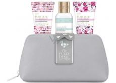 Baylis & Harding Lesní zvonek a Květinová louka sprchový krém 100 ml + tělové mléko 50 ml + krém na ruce 50 ml + toaletní taška, kosmetická sada