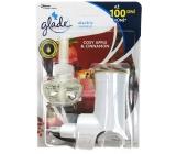 Glade Electric Scented Oil Cosy Apple & Cinnamon - Jablko a skořice elektrický osvěžovač vzduchu strojek stekutounáplní 20 ml