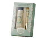 Panier des Sens Mandle krém na ruce 30 ml + olej na nehty a nehtovou kůžičku 7,5 ml kosmetická sada