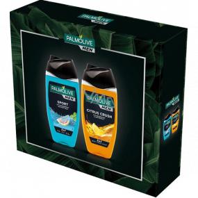 Palmolive Men Sport 3v1 sprchový gel 250 ml + Citrus Crush 3v1 sprchový gel 250 ml, kosmetická sada