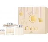 Chloé Chloé parfémovaná voda pro ženy 75 ml + tělové mléko 100 ml + parfémovaná voda 5 ml, dárková sada