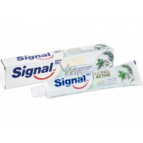 Signal Long Active Nature Elements Baking Soda zubní pasta s jedlou sodou 75 ml