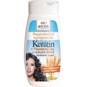Bione Cosmetics Keratin & Obilné klíčky regenerační kondicionér 260 ml
