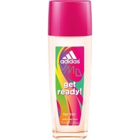 Adidas Get Ready! for Her parfémovaný deodorant sklo 75 ml