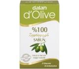 Dalan d Olive Oil s olivovým olejem toaletní mýdlo na tělo a vlasy 150 g
