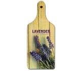 Bohemia Gifts Dekorativní prkénko Lavender Provence s originálním potiskem 28 x 12 cm