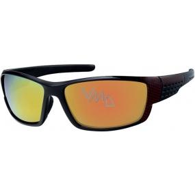 Nac New Age A70112 červené sluneční brýle