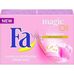 Fa Magic Oil Pink Jasmine toaletní mýdlo 100 g