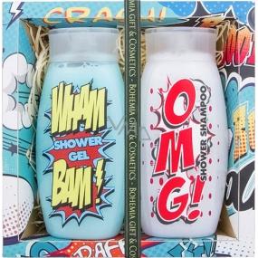 Bohemia Pro teenagery sprchový gel 250 ml + sprchový šampon 250 ml, kosmetická sada