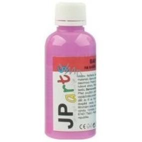JP arts barva na textil na světlé materiály svítící ve tmě neon fialová 50 g