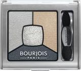 Bourjois Smoky Stories Quad Eyeshadow Palette oční stíny 09 Greyzy In Love 3,2 g