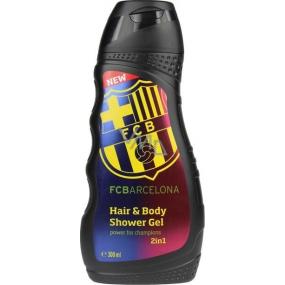 EP Line FC Barcelona 2 v 1 sprchový gel a šampon 300 ml