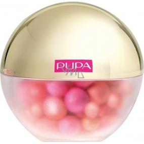 Pupa Dot Shock Blush tvářenka ve vícebarevných perleťových kuličkách 001 Dot Macarones 22 g