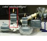 Lima Zimní třpyt Vánoční pohlazení vonná svíčka válec 60 x 120 mm 1 kus
