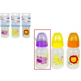 First Steps Jungle Hroch 0+ dětská láhev 150 ml