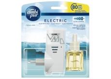 Air Wick Ocean Mis.elektrický osvěžovač vzduchu komplet 19 ml