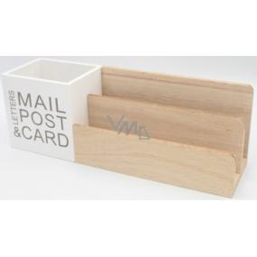 Nekupto Home Decor Dekorace krabička Mail Post 29 x 10 x 8 cm