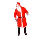Kostým Mikuláš / Santa s kapucí dospělý