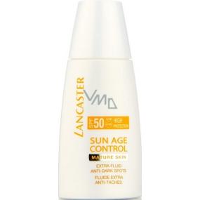 Lancaster Sun Age Control SPF50 obnovující krém na obličej zralá pleť 30 ml