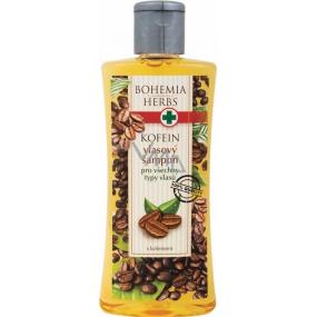 Bohemia Herbs Kofein a Olivový olej šampon na vlasy 250 ml