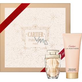 Cartier La Panthere Legere parfémovaná voda 50 ml + tělový krém 100 ml, kosmetická sada