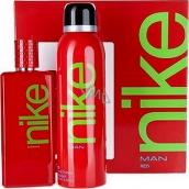 Nike Red Man toaletní voda 100 ml + deodorant sprej 200 ml, dárková sada