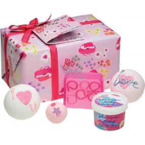 Bomb Cosmetics Ještě více lásky mix balistiků a mýdel 5 kusů 500 g, přírodní, ručně vyrobena kosmetická sada
