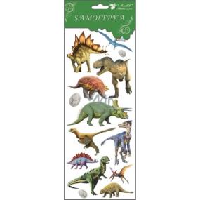 Samolepky dinosauři 3 vajíčka 34,5 x 12,5 cm