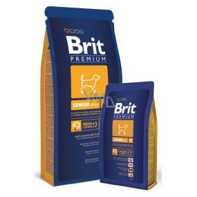 Brit Premium Senior M pro staré psy více než 7 let středních plemen 10- 25kg 15 kg
