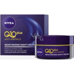 Nivea Visage Q10 Plus noční krém proti vráskám 50 ml