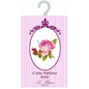 Le Blanc Rose - Růže Vonný sáček ramínko 17,5 x 11 cm 8 g