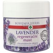 Bohemia Gifts Lavender regenerační mast s levandulovým olejem 120 ml