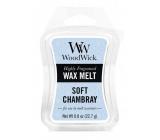 WoodWick Soft Chambray - Čisté prádlo vonný vosk do aromalampy 22.7 g