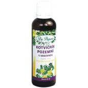 Dr. Popov Kotvičník pozemní s vrbovkou originální bylinné kapky pro normální hormonální aktivitu, funkci močového a reprodukčního systému a prostaty 50 ml