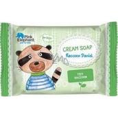 Pink Elephant Mýval Daniel krémové mýdlo pro děti 90 g