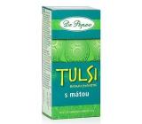 Dr. Popov Tulsi bazalka posvátná s mátou čaj podporuje přirozený imunitní systém, vitalitu, stres 30 g, 20 nálevových sáčků á 1,5 g