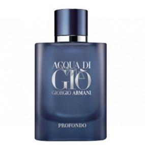 Giorgio Armani Acqua di Gioia Profondo parfémovaná voda pro muže 75 ml Tester