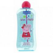Peppa Pig - Prasátko Pepa koupelový a sprchový gel bublinkový s bublifukem pro děti 200 ml