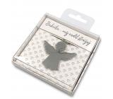 Nekupto Dárková klíčenka pro štěstí Babička..můj anděl strážný 4 cm