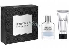 Jimmy Choo Urban Hero parfémovaná voda pro muže 50 ml + sprchový gel 100 ml, dárková sada