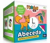 Albi V kostce! Plus Abeceda patnáctiminutová hra na procvičení paměti a vědomostí doporučený věk 4+