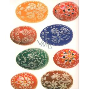 Room Decor Okenní fólie bez lepidla velikonoční vajíčka 568 1 kus