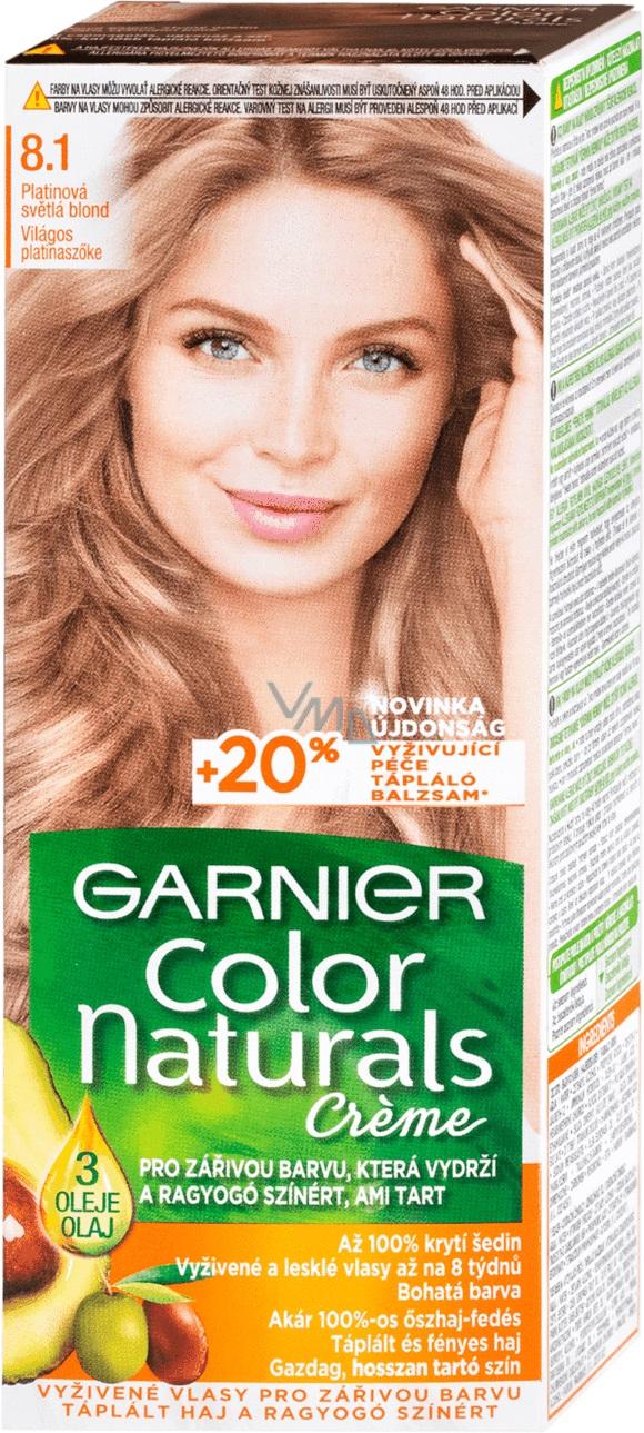 Garnier Color Naturals Barva Na Vlasy 8 1 Svetla Blond Popelava