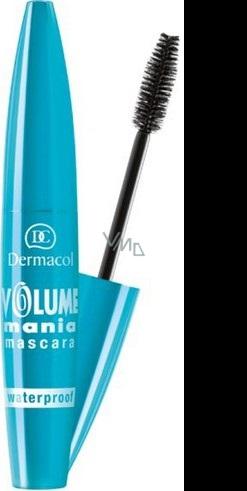 Dermacol Volume Mania voděodolná řasenka odstín černá 9 ml